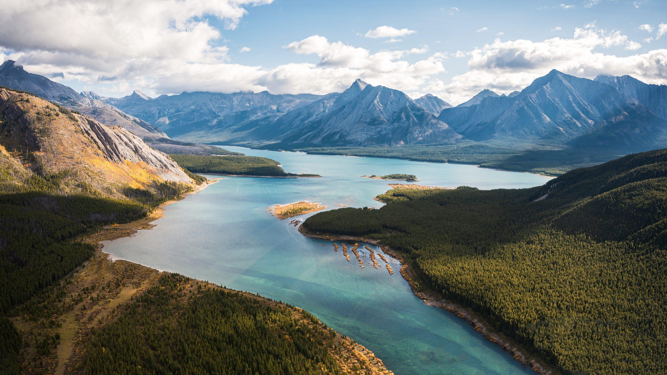Assiniboine provincial park, Alberta, Canada